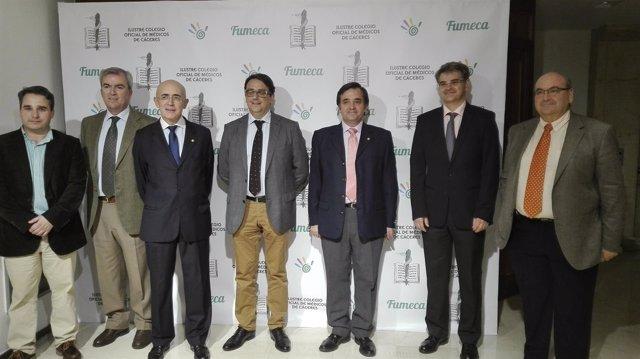Vergeles y Colegio de Médicos de Cáceres