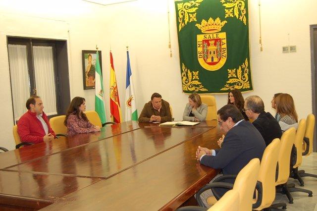 Irene García visita Olvera
