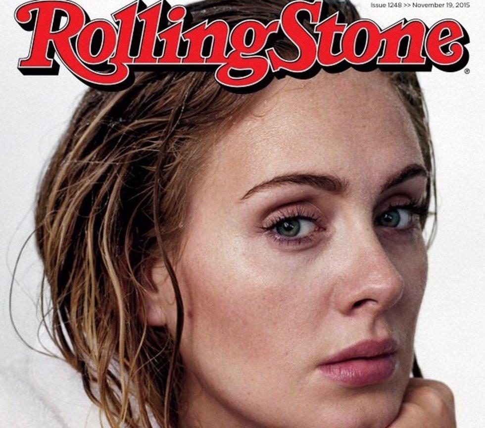 Adele: su miedo a la fama, su peso y su vida privada para Rolling Stone