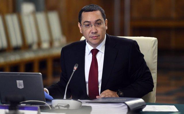 El primer ministro de Rumanía, Victor Ponta