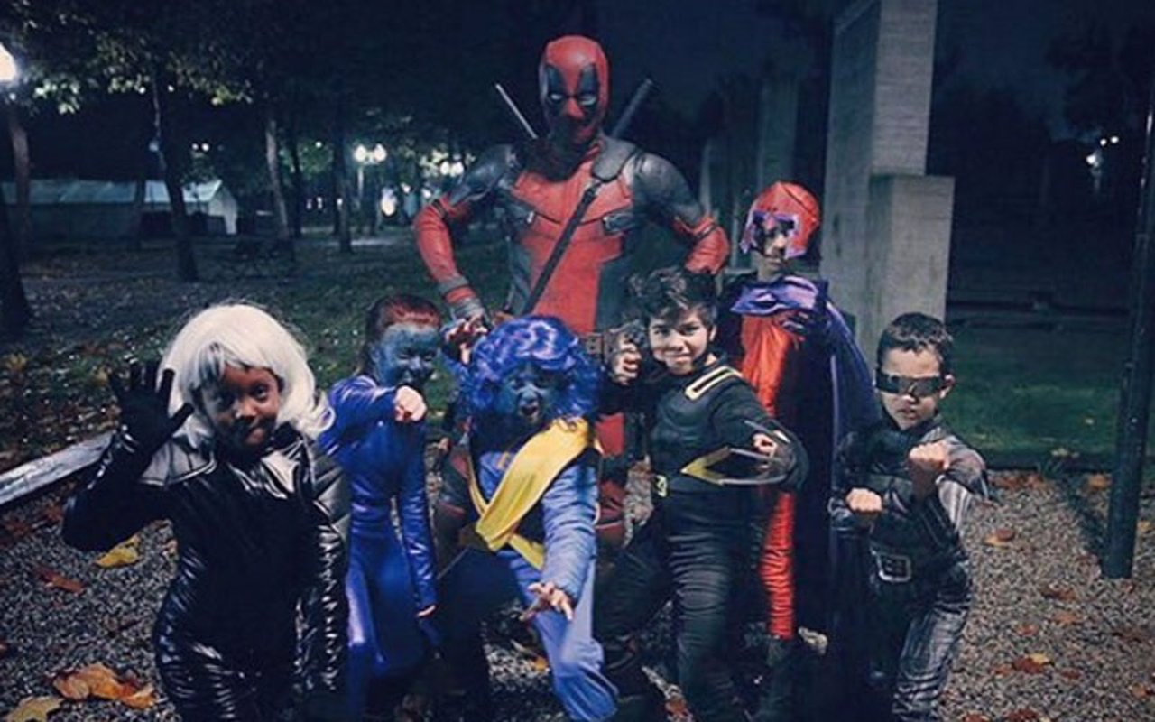 Deadpool en Halloween