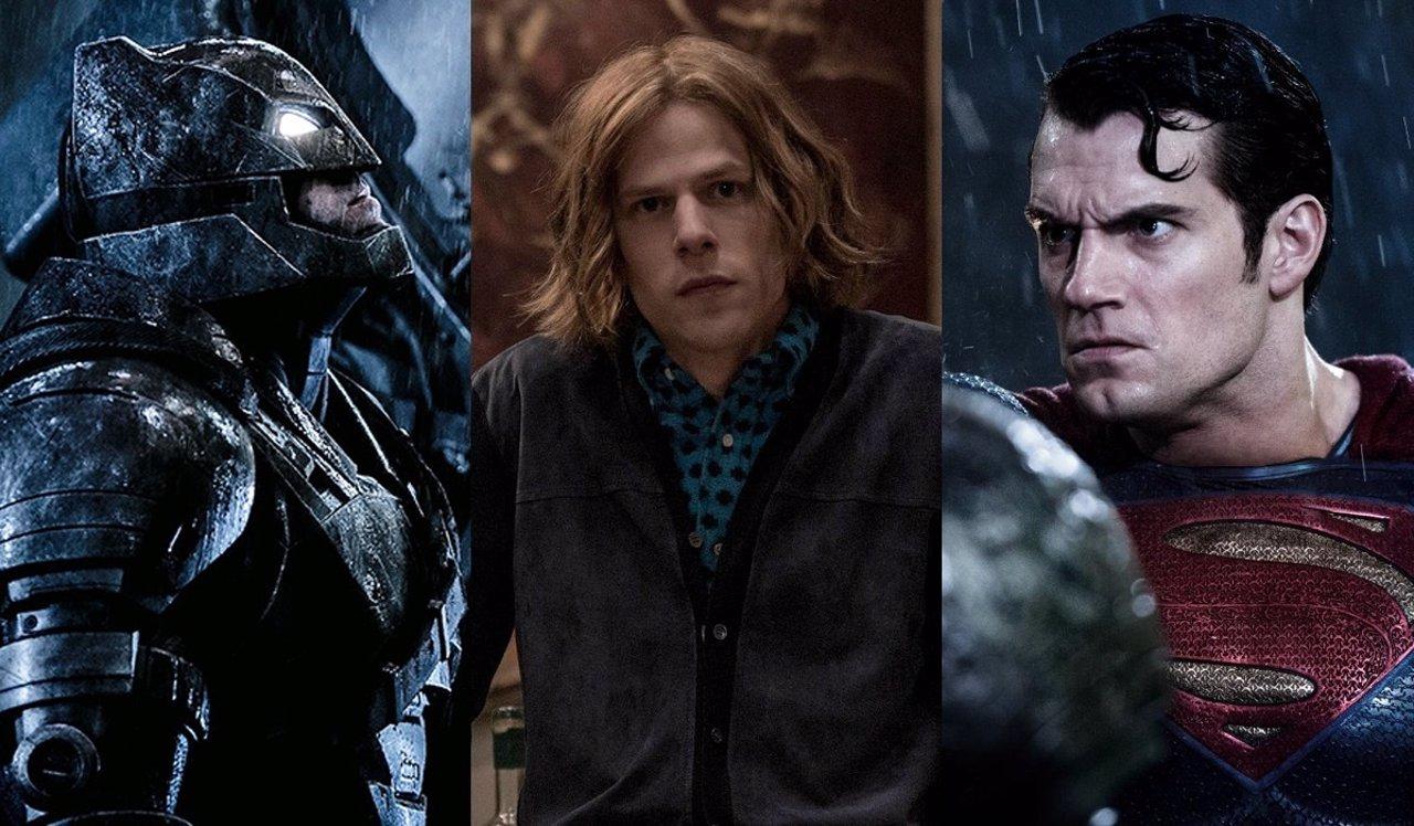 Batman v Superman con Lex Luthor
