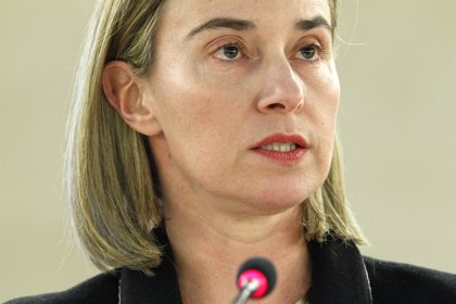 """Mogherini pide a los 28 """"una respuesta coherente y bien coordinada"""" en apoyo a un acuerdo de paz"""