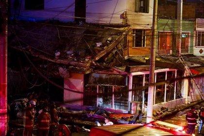 Muere una novena víctima por la caída de una avioneta en Bogotá