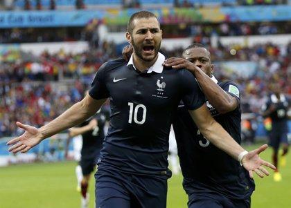 Benzema declara en Francia por el presunto chantaje a Valbuena