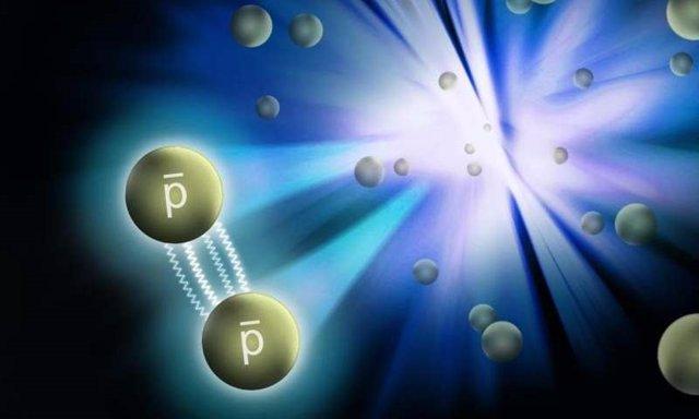 Interacción de antiprotones