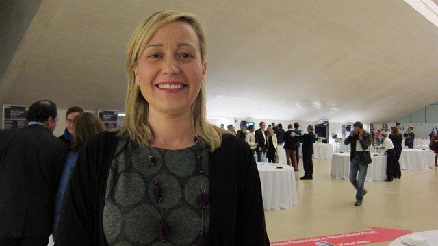 Consejera de Economía, Industria y Empleo del Gobierno de Aragón, Marta Gastón