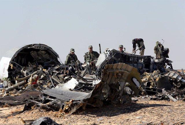Accidente avión ruso en el Sinaí