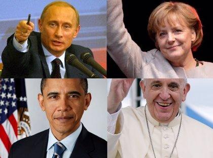 Putin, Merkel, Obama y el Papa Francisco, las personas más influyentes del mundo