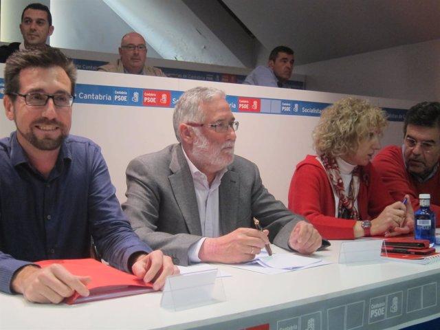 Imagen del Comité Regional del PSC-PSOE