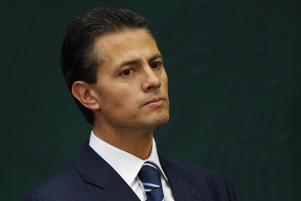 El presidente mexicano, Enrique Peña Nieto