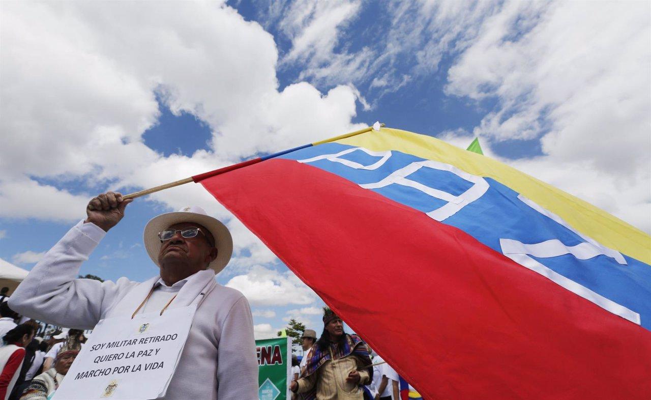 Conflicto colombiano Bogotá Colombia