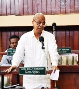 primer ministro de Belice, Dean Barrow