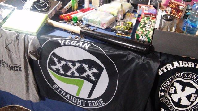 Material intervenido a cinco anarquistas detenidos en Madrid