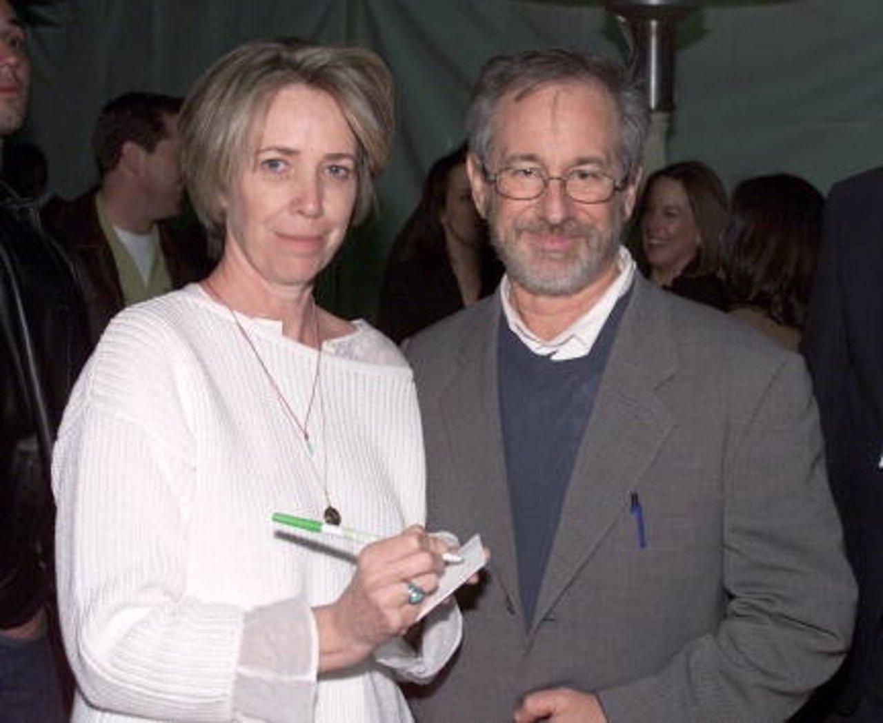 Melissa Mathison y Seteven Spielberg