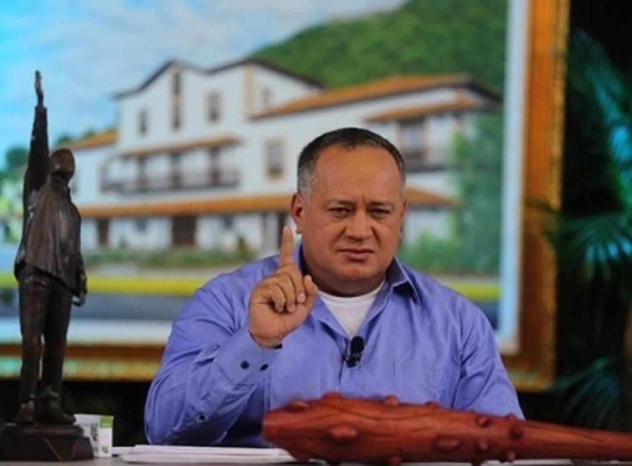 Diosdado Cabello no recibirá a eurodiputados que visitan Venezuela
