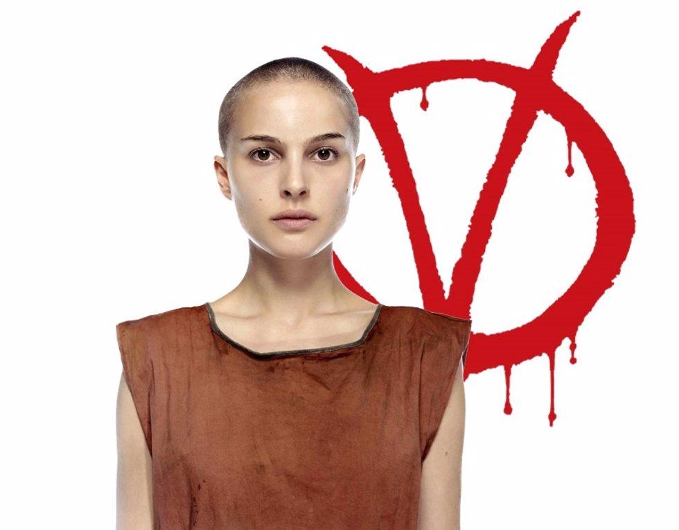 V de Vendetta: Natalie Portman y otras actrices 'rapadas al cero'