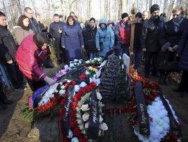 Rusia comienza a despedir a las víctimas de la tragedia del Sinaí