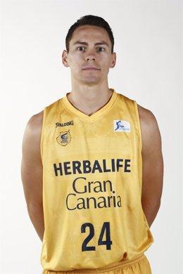 Kyle Kuric, jugador del Herbalife Gran Canaria