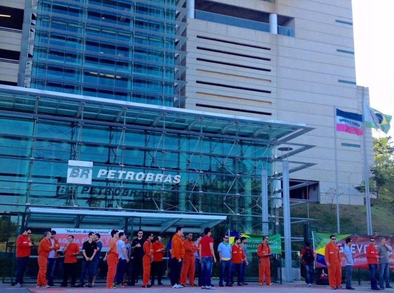 Huelga en Petrobras
