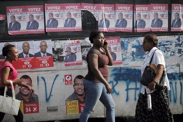 Elecciones en Haití