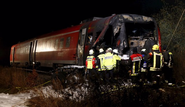 Imágenes del tren de Alemania