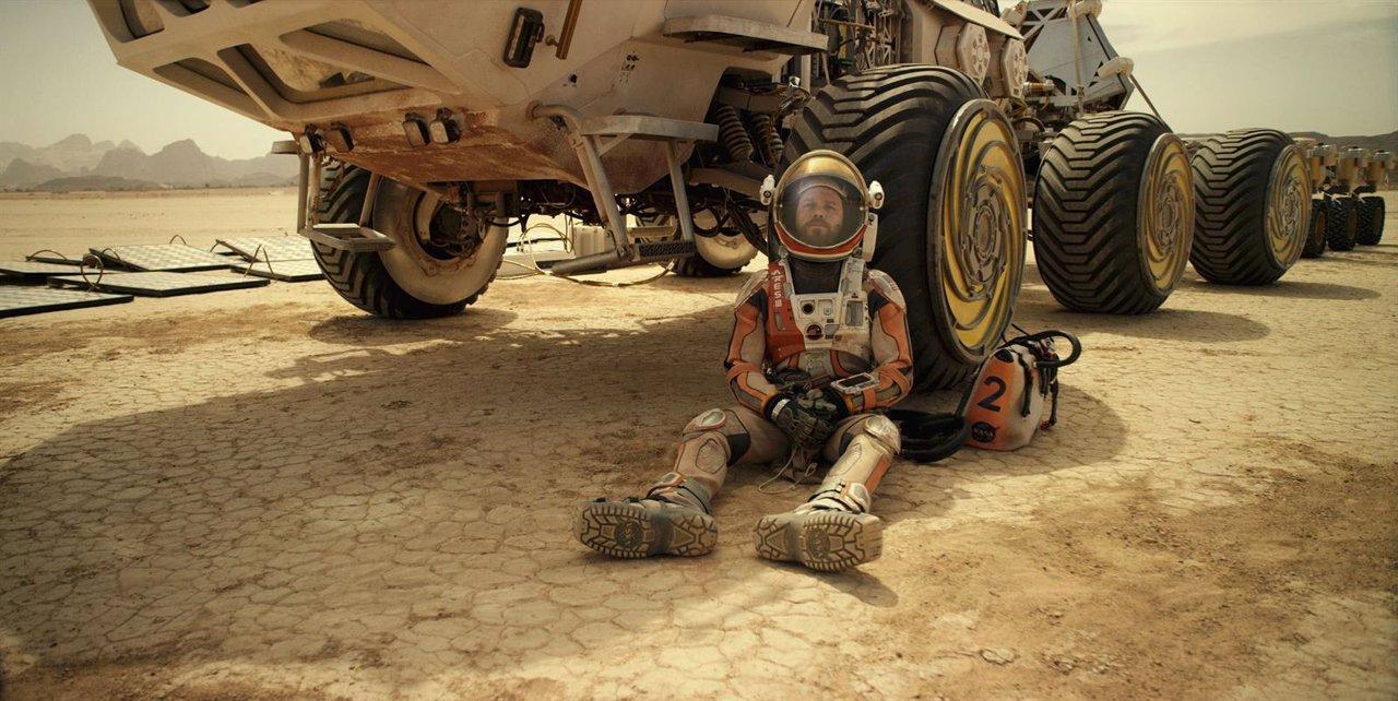 Marte, película más vista en La Fiesta del Cine