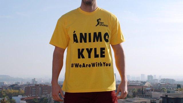 Camiseta de apoyo a Kyle Kuric