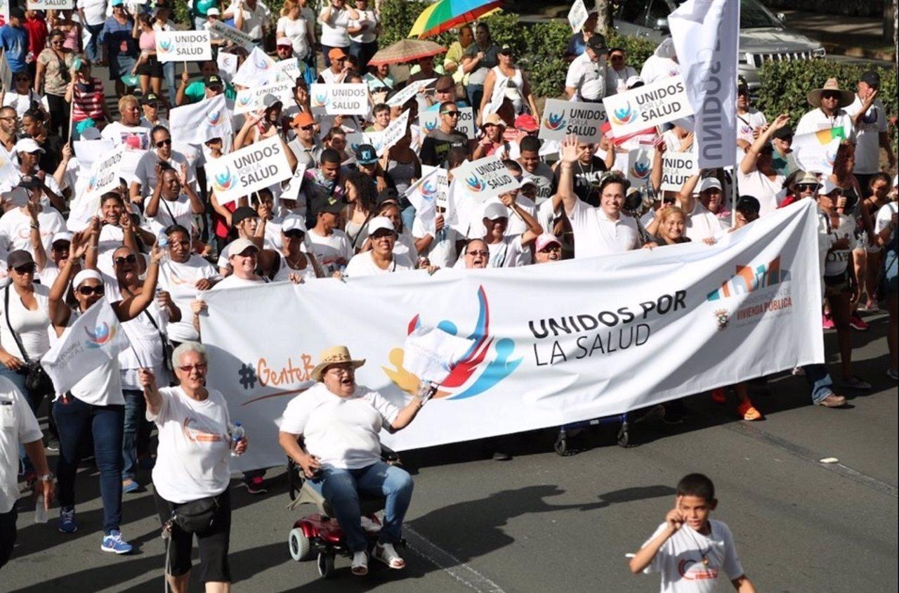 Puerto Rico se manifiesta por la igualdad en la salud