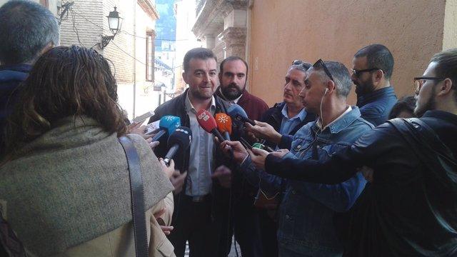 El coordinador andaluz de IULV-CA, Antonio Maíllo.