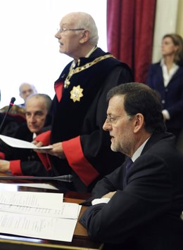 Rajoy Y Romay Beccaría En El Consejo De Estado