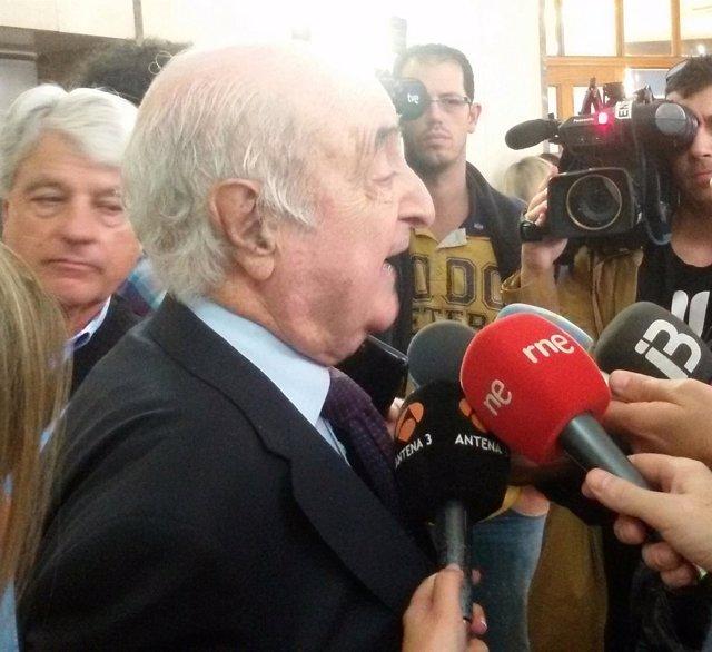 Rafael Perera declara como testigo por el caso Son Espases
