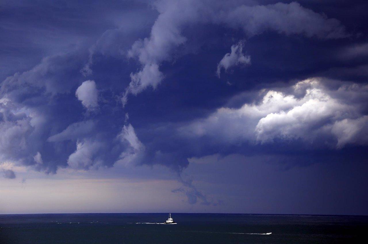 Tormenta en Bondi Beach (Sidney)
