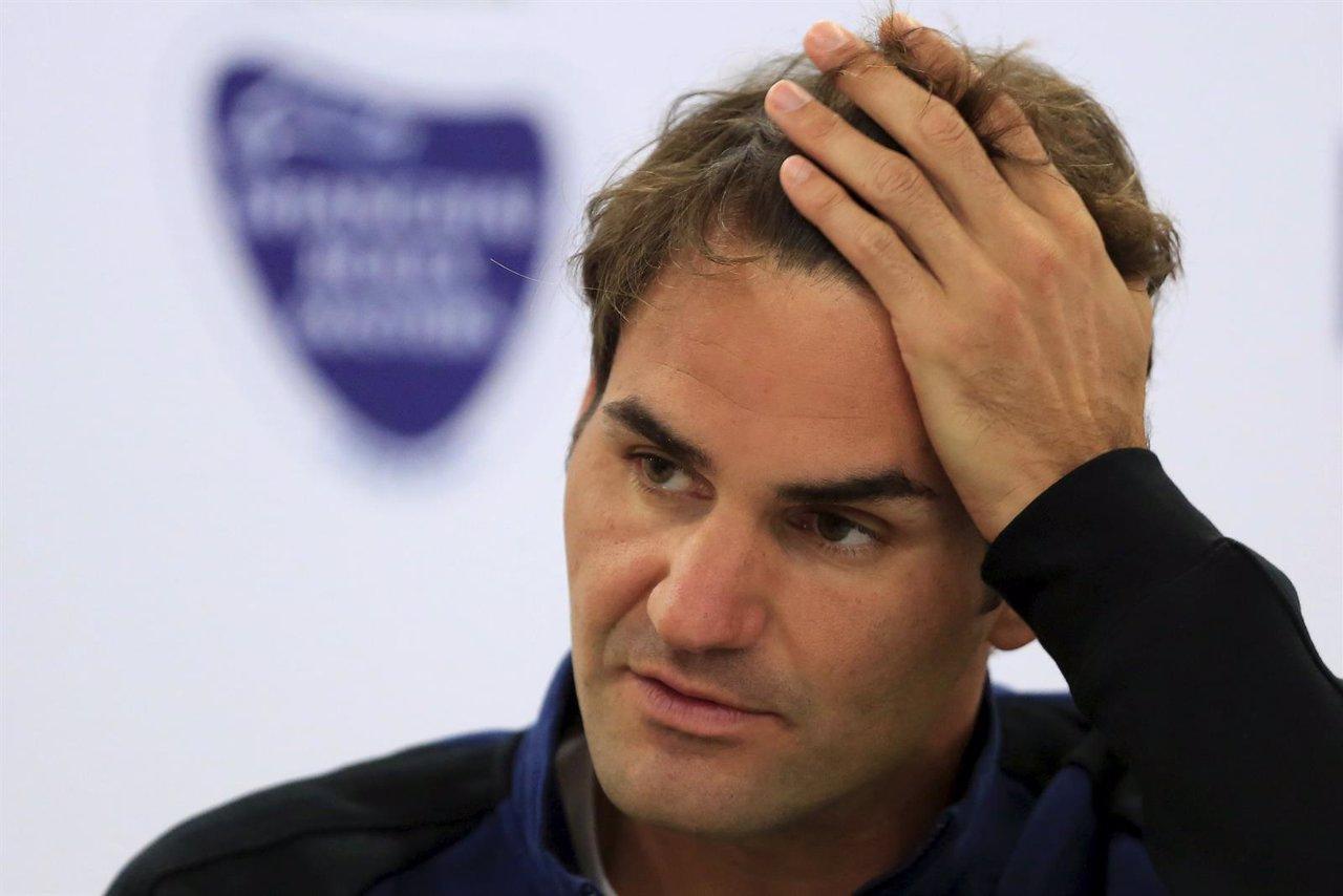 El tenista suiza Roger Federer