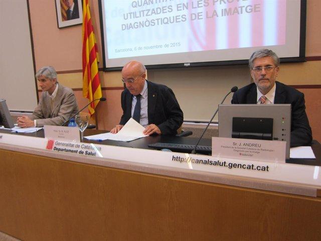 El conseller B.Ruiz presenta el impacto de la relevancia de la radiología