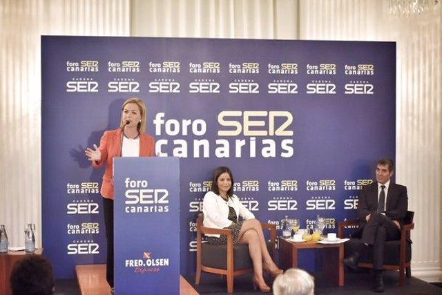 Oramas en el Foro Ser Canarias