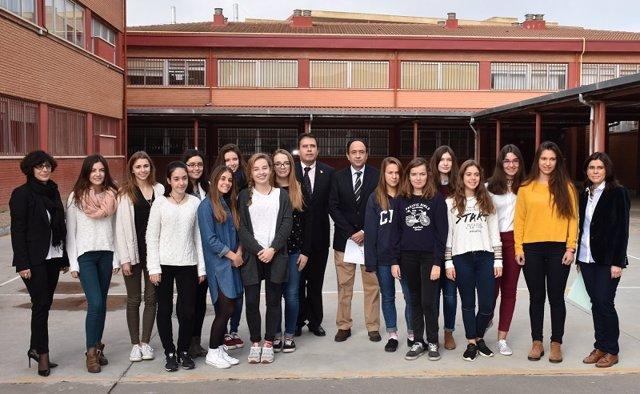 Politécnico (Foto: Junta). Soria 6 Noviembre 2015