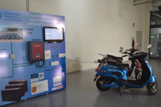 La UPCT pone en marcha la primera fotolinera de la Región monitorizada