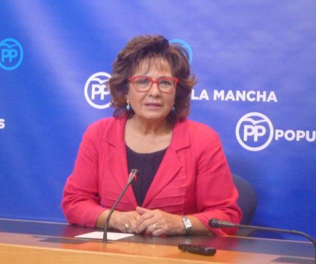 Carmen Riolobos, portavoz del PP en C-LM