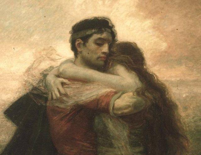 Tristán e Iseo (La vida) 1912, de Rogelio de Egusquiza