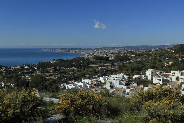 Urbanización del litoral de la Costa del Sol