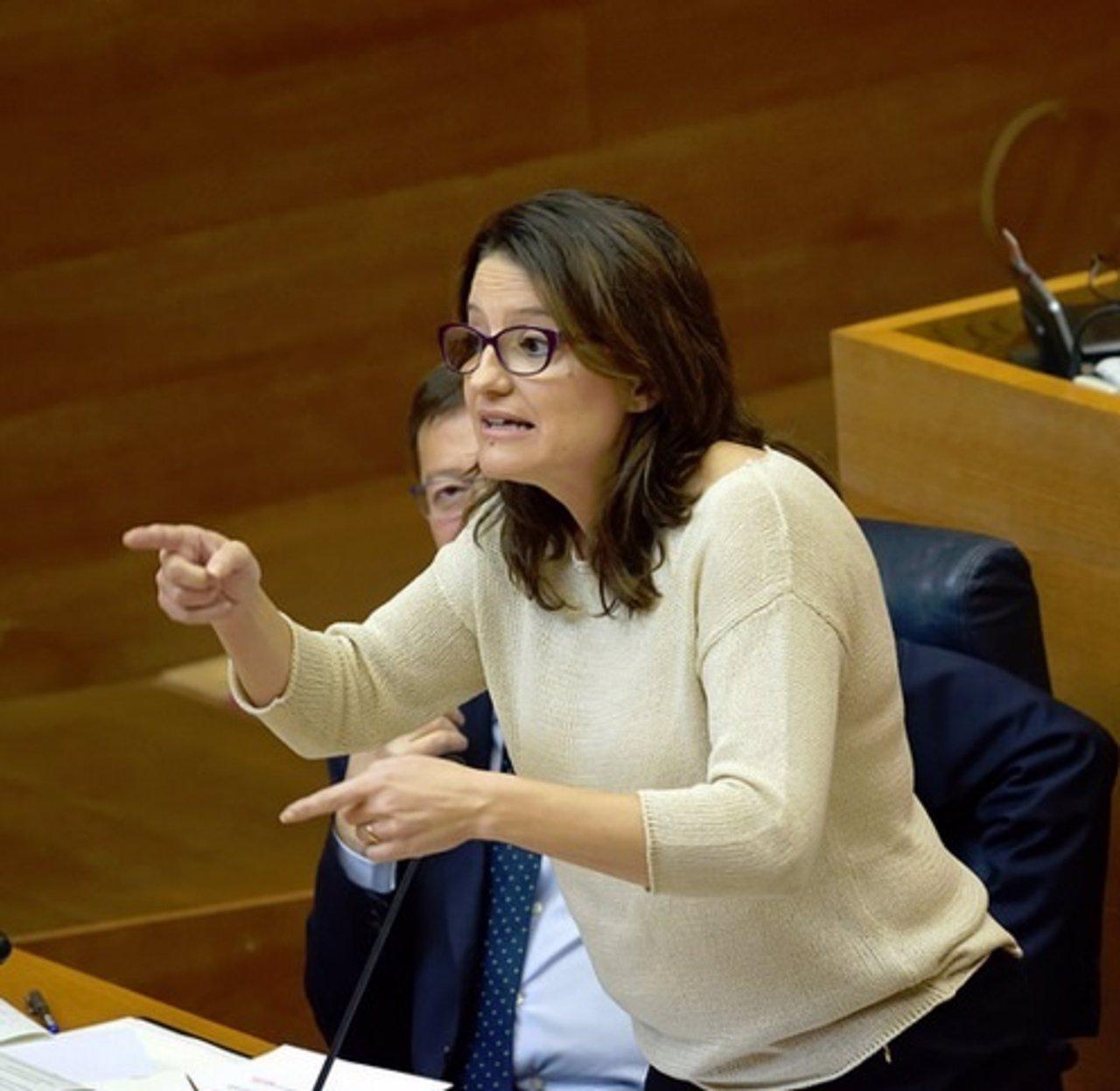 Mònica Oltra en una imagen de archivo