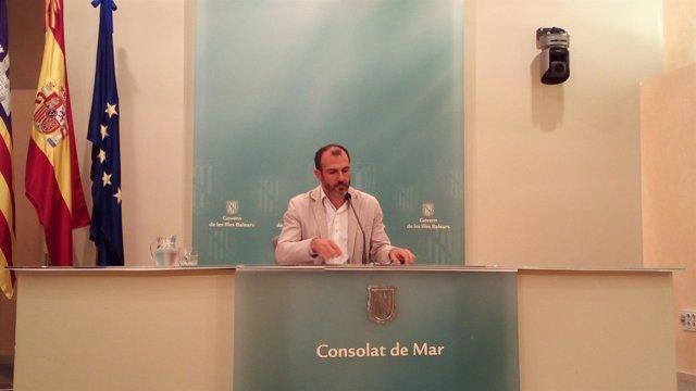 El vicepresidente y conseller de Turismo, Biel Barceló