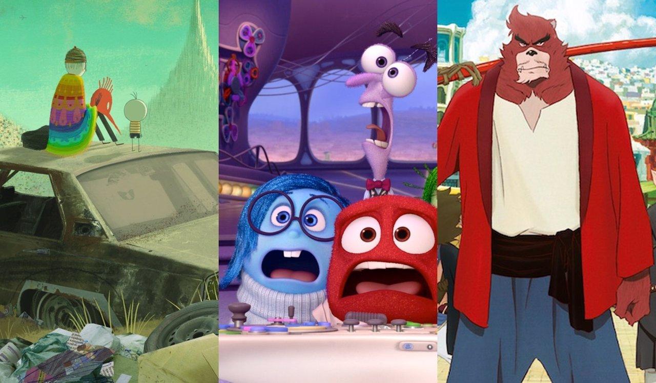 Películas de animación candidatas a los Oscar