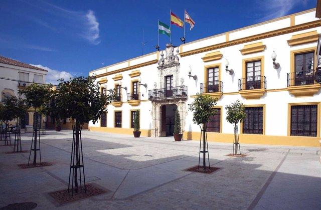 Fachada del Ayuntamiento de Utrera