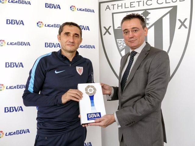 Ernesto Valverde, mejor entrenador de octubre en la Liga BBVA