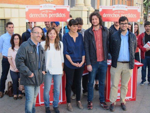 González veracruz presenta 'La Oficina de los derechos Perdidos'