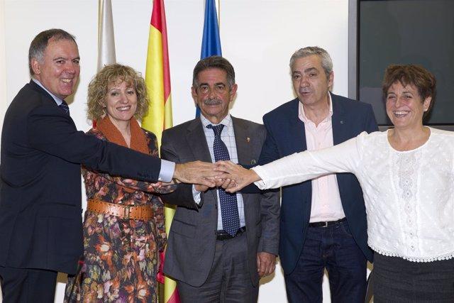 Acuerdo Gobierno-patronal-sindicatos de diálogo social y desarrollo de Cantabria