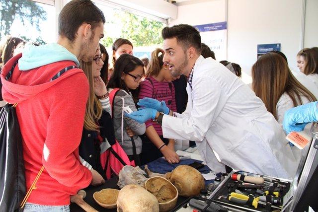 La UCAM participa en la Semana de la Ciencia