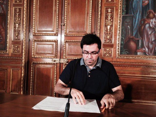 El primer teniente de alcalde Gerardo Pisarello